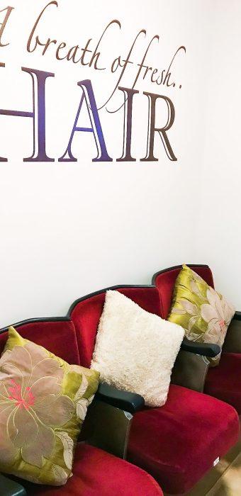Waiting Room at Hair Solved Bristol Salon